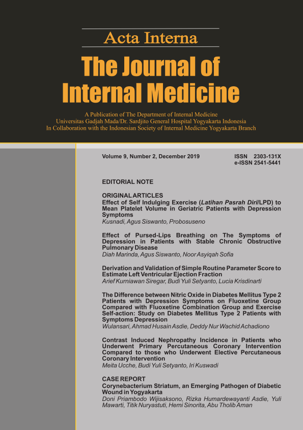 Acta Interna The Journal of Internal Medicine