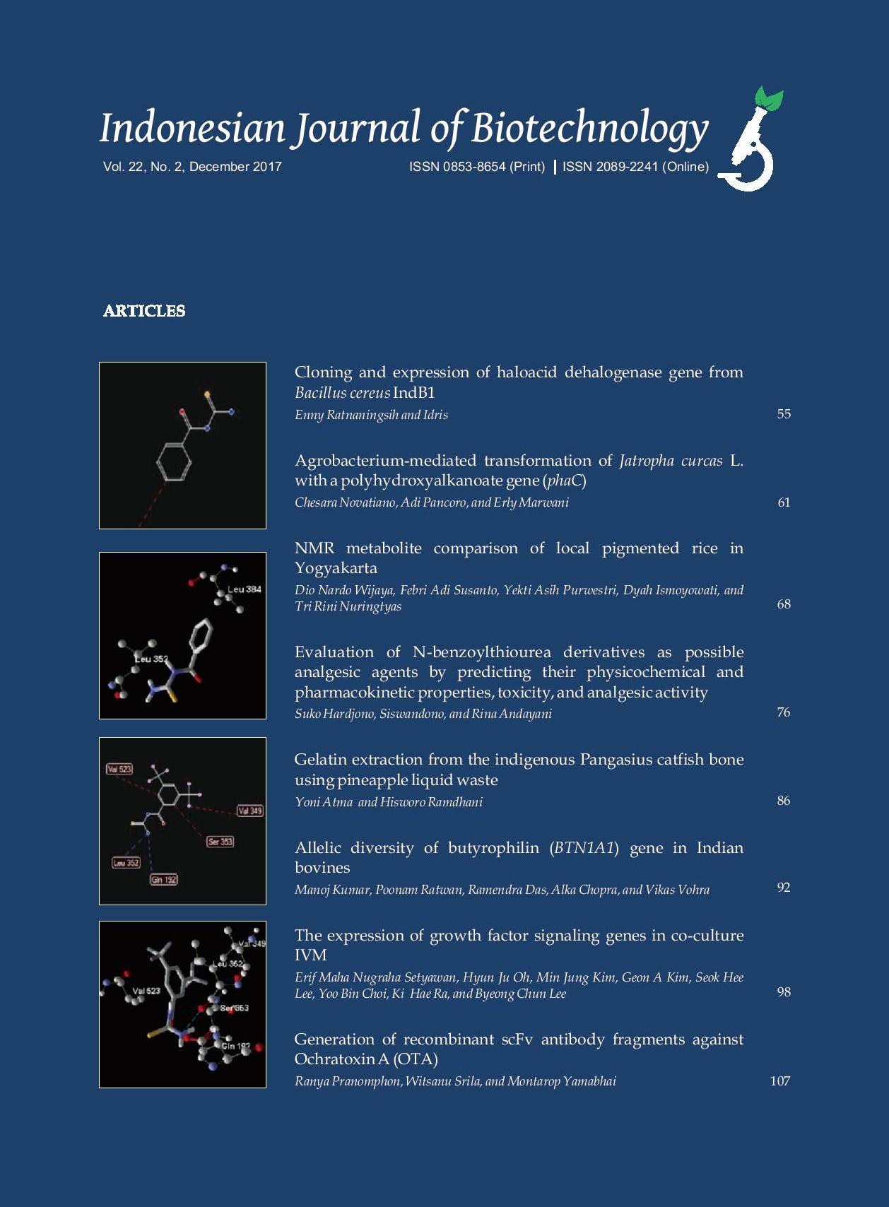 IJBiotech Vol. 22 No. 2