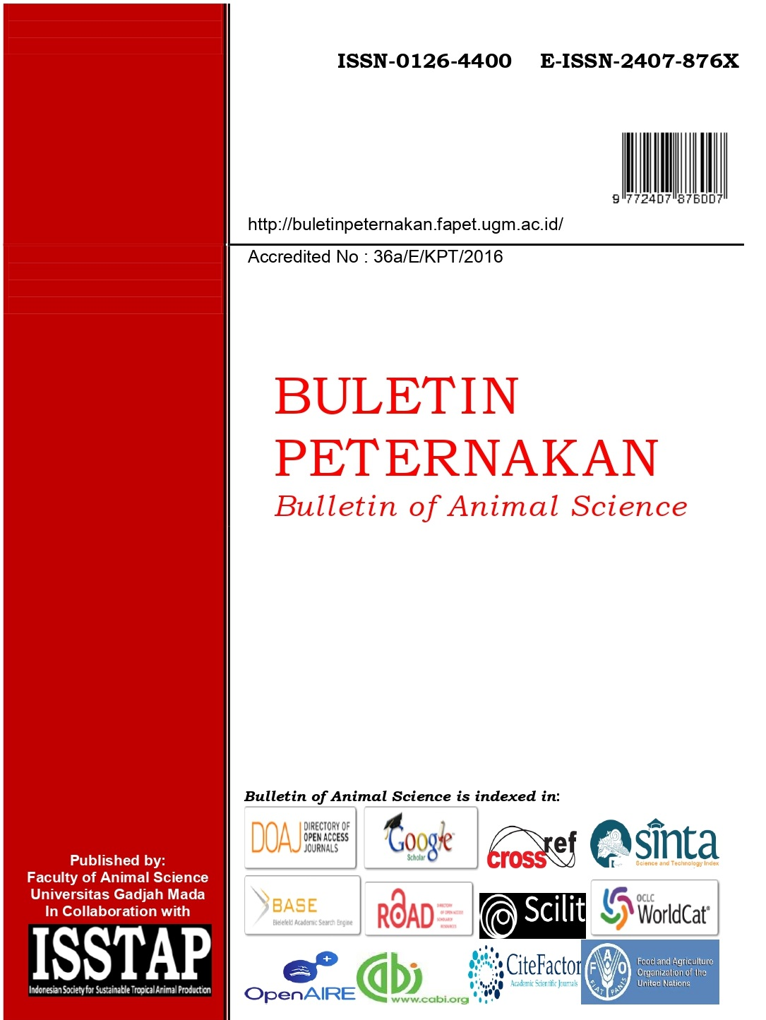 Buletin Peternakan (Bulletin of Animal Science)