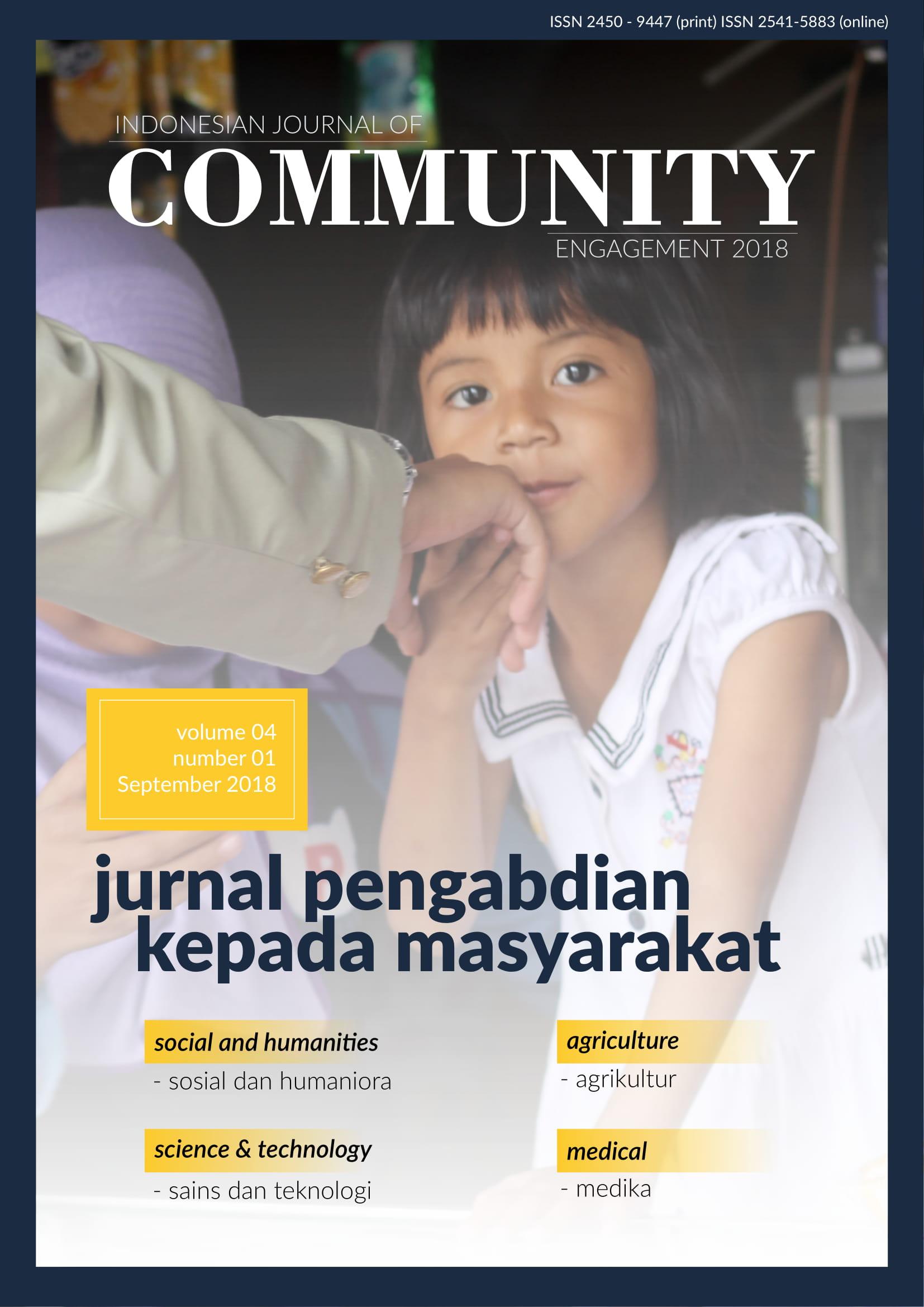 Jurnal Pengabdian Kepada Masyarakat (Indonesian Journal of Community Engagement)